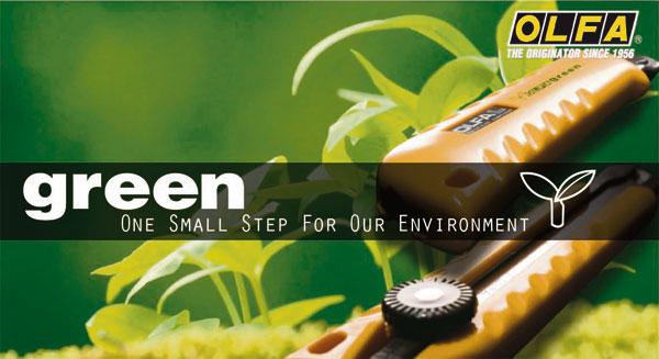 Olfa Green: Cúters comprometidos con la sostenibilidad