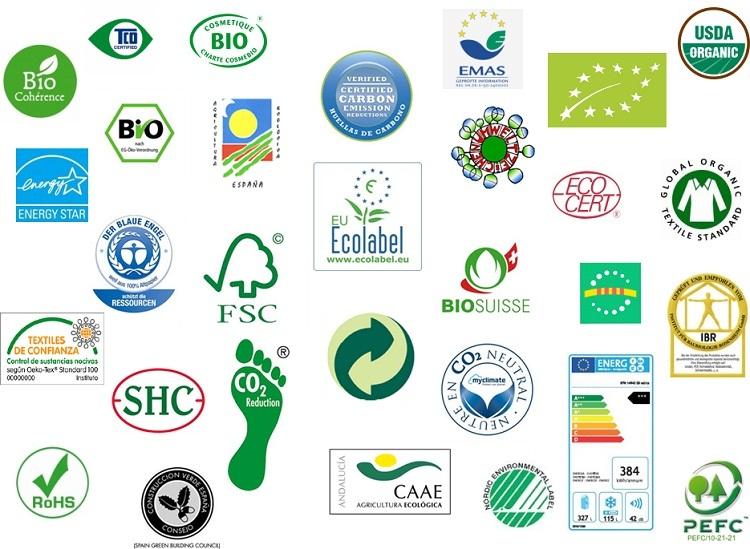 Les etiquetes ecològiques; un producte diferenciat dirigit a un consumidor responsable